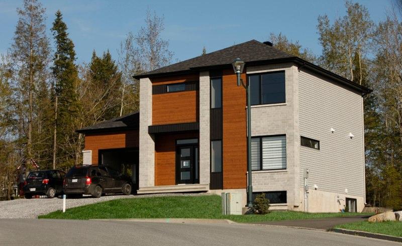 construction maison contemporaine. Black Bedroom Furniture Sets. Home Design Ideas